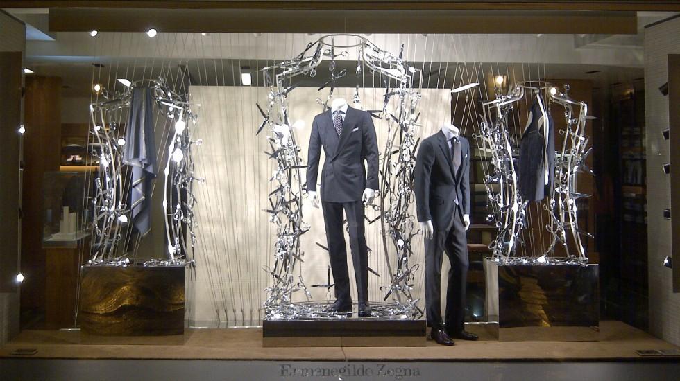 """Vêtements """"SUR MESURE"""" Ermenegildo Zegna Automne/Hiver 2011"""