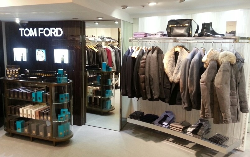 TOM FORD Fall/Winter 2012 display